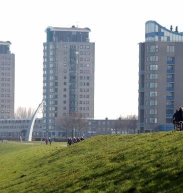 Nissewaard februari 2019-Spijkenisse Maasboulevard/Elementen Spijkenisse 18 febr 2019 Foto Peter de Jong©2019